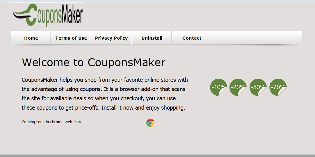 remove CouponsMaker