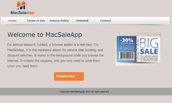 remove MacSaleApp