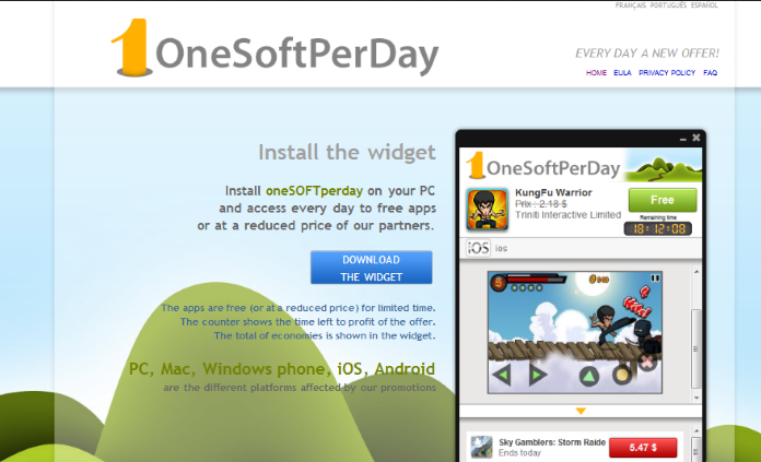 remove OneSoftPerDay