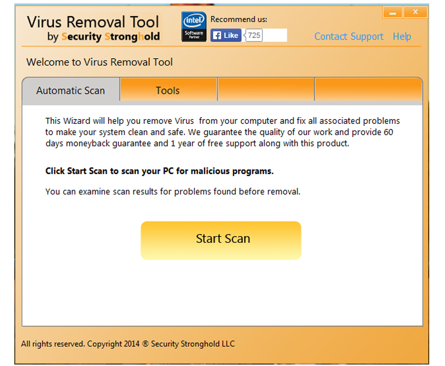 Scan your computer for viruses with Virus Removal Tool
