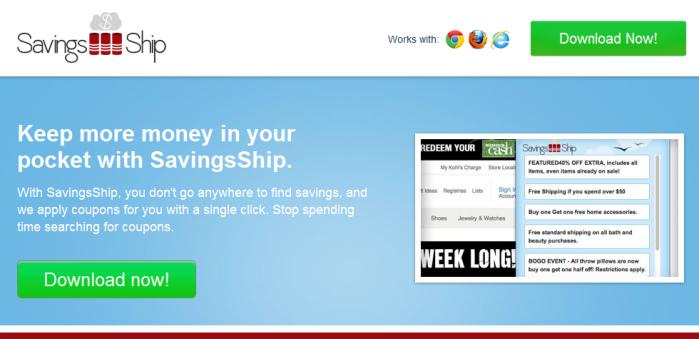 remove SavingsShip